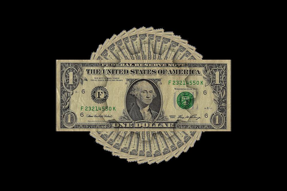 dolarová koláž