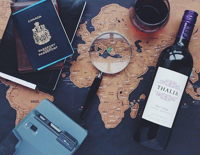 víno na mapě