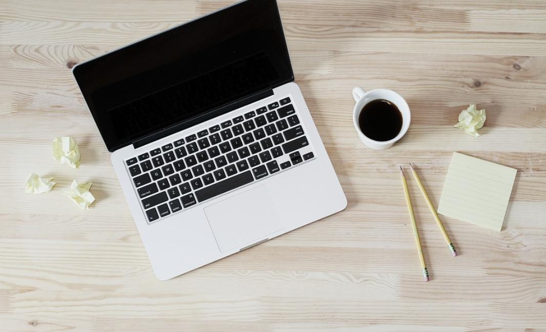 notebook a práce
